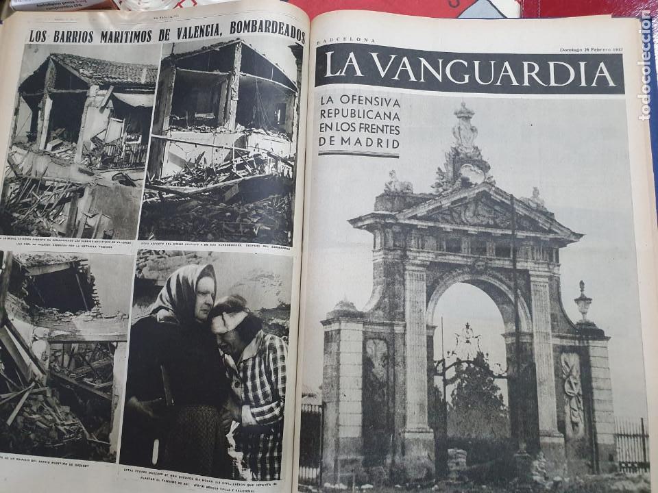 Libros antiguos: Tomo I con 75 notas gráficas La Vanguardia, del bando Republicano, muy buen estado, 1937 - Foto 56 - 167942420