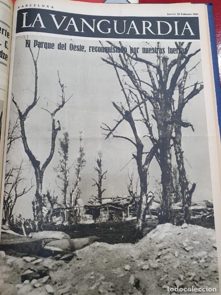 Libros antiguos: Tomo I con 75 notas gráficas La Vanguardia, del bando Republicano, muy buen estado, 1937 - Foto 57 - 167942420
