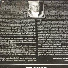 Libros antiguos: LA ACTUALIDAD ESPAÑOLA. FRANCO 40 AÑOS DE LA HISTORIA DE ESPAÑA. Lote 168376360
