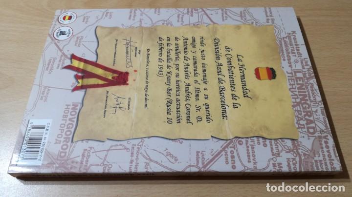 Libros antiguos: ARTILLERÍA EN LA DIVISIÓN AZUL - ANTONIO DE ANDRES Y ANDRES - KRASNY BOR - - Foto 2 - 169107372