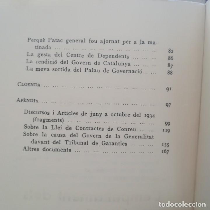 Libros antiguos: EL 6 DOCTUBRE DES DEL PALAU DE GOVERNACIO - LA VERITAT DEL 6 OCTUBRE-LOTE-1935 Y 1936 - Foto 7 - 171020560