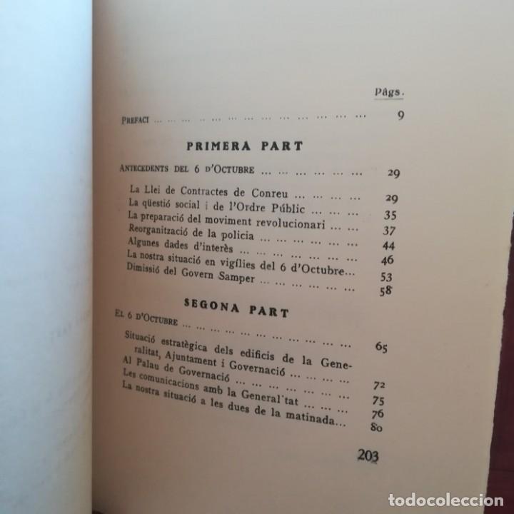 Libros antiguos: EL 6 DOCTUBRE DES DEL PALAU DE GOVERNACIO - LA VERITAT DEL 6 OCTUBRE-LOTE-1935 Y 1936 - Foto 17 - 171020560