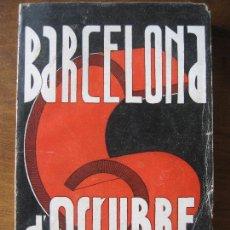 Libros antiguos: PERE FOIX ; BARCELONA 6 D'OCTUBRE. Lote 171535250
