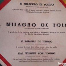 Libri antichi: EL MILAGRO DE TOLEDO 1936. Lote 172858869