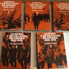 Libros antiguos: GUERRA Y REVOLUCIÓN EN ESPAÑA 1936-1939.. Lote 175348545
