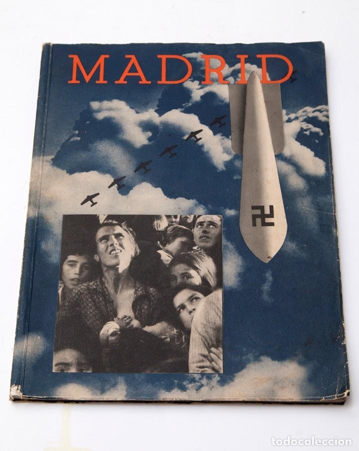 MADRID - ROBERT CAPA - FOTOLIBRO - GUERRA CIVIL ESPAÑOLA - 1937 (Libros antiguos (hasta 1936), raros y curiosos - Historia - Guerra Civil Española)