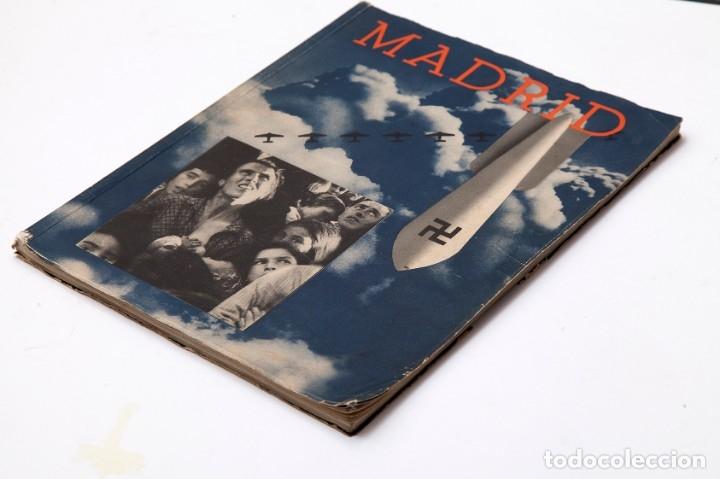 Libros antiguos: MADRID - ROBERT CAPA - FOTOLIBRO - GUERRA CIVIL ESPAÑOLA - 1937 - Foto 3 - 176921254