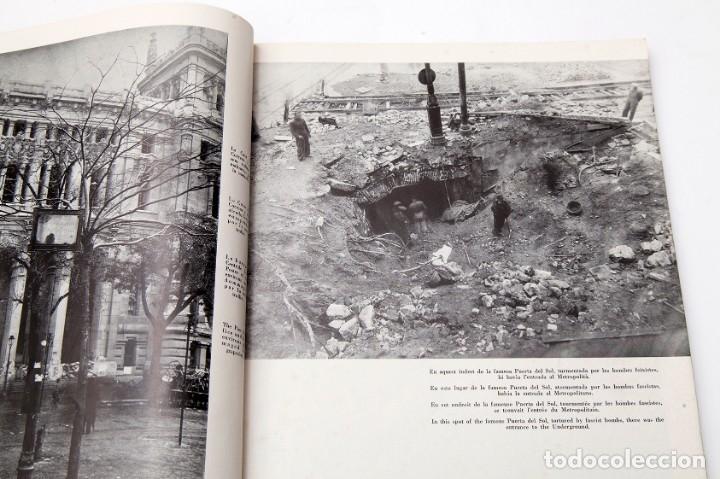 Libros antiguos: MADRID - ROBERT CAPA - FOTOLIBRO - GUERRA CIVIL ESPAÑOLA - 1937 - Foto 7 - 176921254