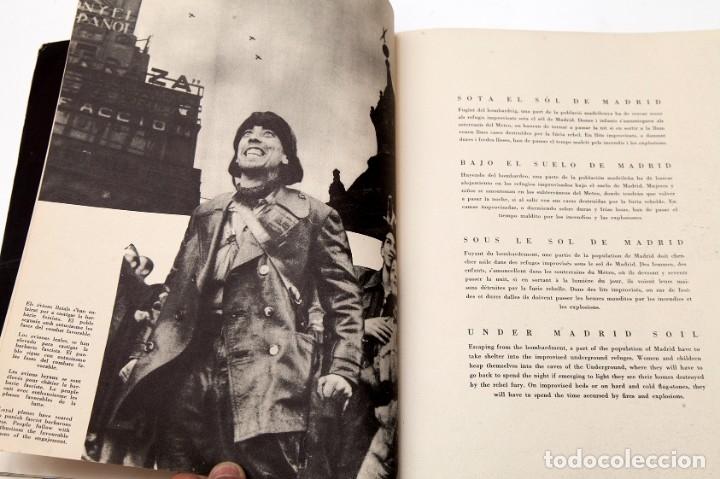 Libros antiguos: MADRID - ROBERT CAPA - FOTOLIBRO - GUERRA CIVIL ESPAÑOLA - 1937 - Foto 9 - 176921254