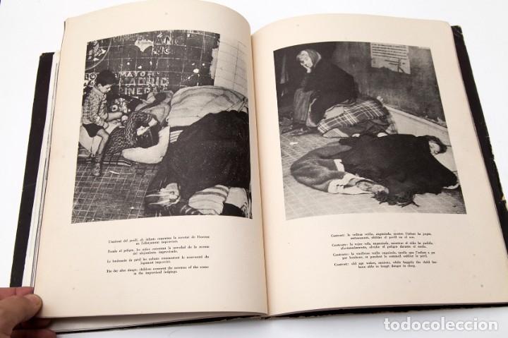 Libros antiguos: MADRID - ROBERT CAPA - FOTOLIBRO - GUERRA CIVIL ESPAÑOLA - 1937 - Foto 10 - 176921254