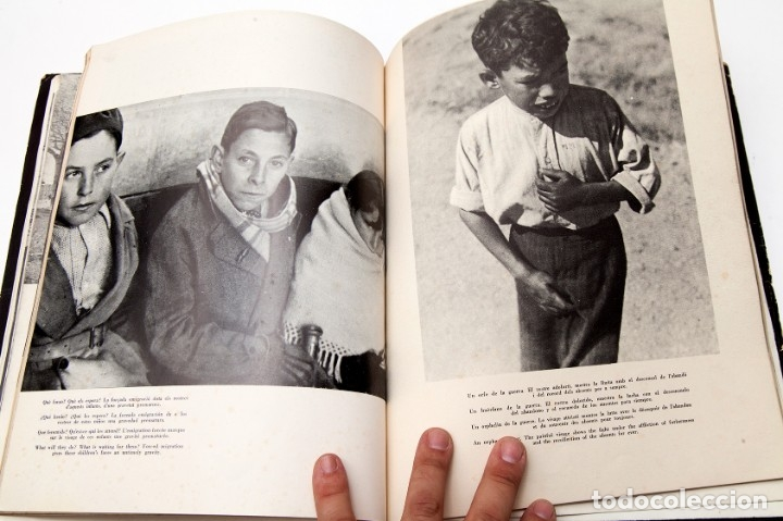 Libros antiguos: MADRID - ROBERT CAPA - FOTOLIBRO - GUERRA CIVIL ESPAÑOLA - 1937 - Foto 12 - 176921254