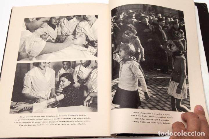 Libros antiguos: MADRID - ROBERT CAPA - FOTOLIBRO - GUERRA CIVIL ESPAÑOLA - 1937 - Foto 13 - 176921254