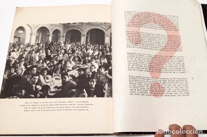 Libros antiguos: MADRID - ROBERT CAPA - FOTOLIBRO - GUERRA CIVIL ESPAÑOLA - 1937 - Foto 14 - 176921254