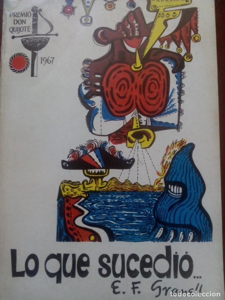 Libros antiguos: Granell. Lo que sucedió. 1968 México. Ilustraciones del autor. Guerra civil. Exilio republicano - Foto 2 - 176933088