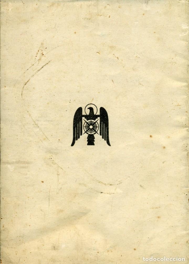 Libros antiguos: PERFIL HUMANO DE FRANCO - Junio de 1938. Por Luis Moure - Foto 3 - 178340136