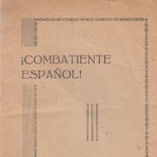 Libros antiguos: EJERCITO FRANQUISTA. SERVICIO DE RECUPERACIÓN DE OBRAS DE ARTE EN VANGUARDIA. C. 1938. Lote 194568395
