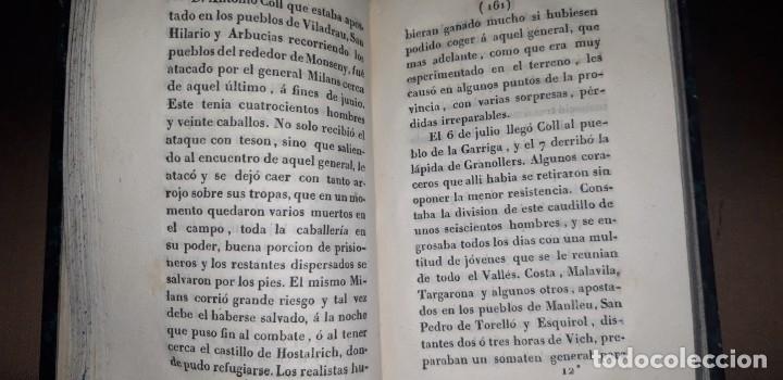 Libros antiguos: JOSE MARQUET Y ROCA. MEMORIAS PARA LA HISTORIA DE LA ULTIMA GUERRA CIVIL DE ESPAÑA. CAMPAÑA 1820-23. - Foto 4 - 179196581