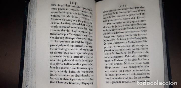 Libros antiguos: JOSE MARQUET Y ROCA. MEMORIAS PARA LA HISTORIA DE LA ULTIMA GUERRA CIVIL DE ESPAÑA. CAMPAÑA 1820-23. - Foto 5 - 179196581