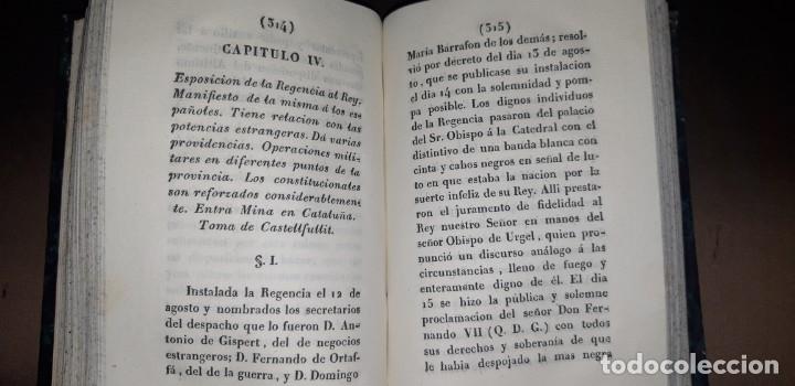 Libros antiguos: JOSE MARQUET Y ROCA. MEMORIAS PARA LA HISTORIA DE LA ULTIMA GUERRA CIVIL DE ESPAÑA. CAMPAÑA 1820-23. - Foto 6 - 179196581