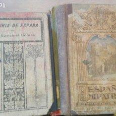 Libros antiguos: LOTE 14 LIBROS ANTIGUOS, HISTORIA DE ESPAÑA, PATRIA, SIMBOLOS, IDEALES DEL IMPERIO, PRIMO DE RIBERA. Lote 182671645