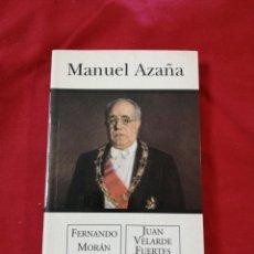 Libros antiguos: GUERRA CIVIL ESPAÑOLA. MANUEL AZAÑA. FERNANDO MORAN. JUAN VELARDE FUERTES. Lote 186534770