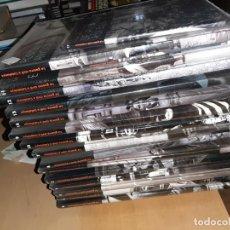 Libros antiguos: LA GUERRA CIVIL A CATALUNYA 15 TOMOS Y 15 VIDEOS DVD COMPLETO Y PRECINTADO , NUEVO. Lote 187163261