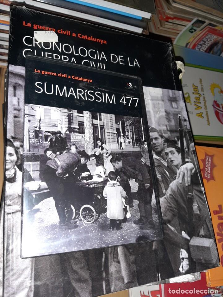 Libros antiguos: guerra civil a catalunya 15 tomos y 15 videos DVD , precintado y nuevos , completo - Foto 2 - 187163455