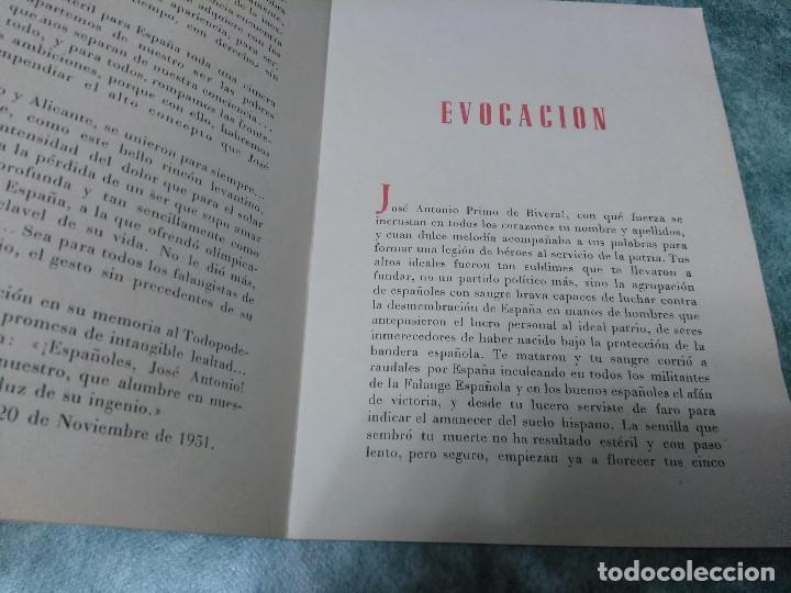 Libros antiguos: ROMANCE A JOSE ANTONIO - HOMENAJE PERPETUO - Foto 4 - 188491730