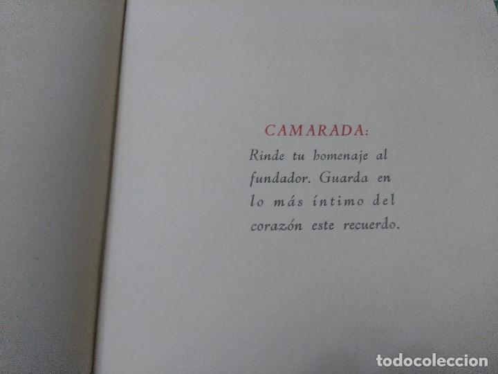 Libros antiguos: ROMANCE A JOSE ANTONIO - HOMENAJE PERPETUO - Foto 5 - 188491730