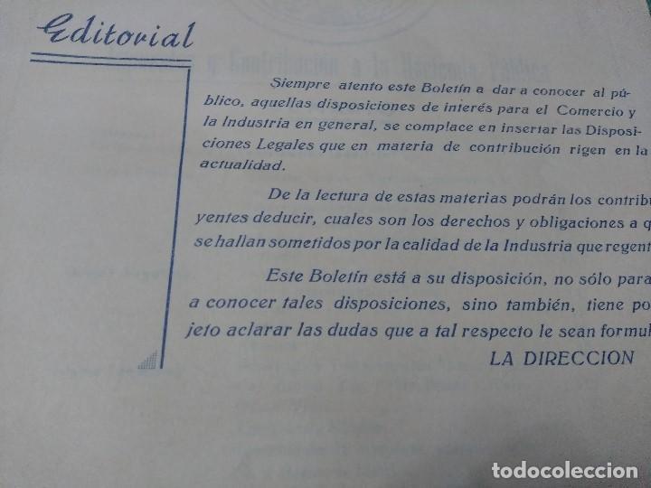 Libros antiguos: IMPUESTOS Y COTRIBUCION DE LA HACIENDA PUBLICA 11/2/55 - Foto 6 - 188492637