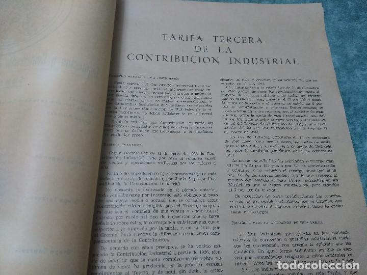 Libros antiguos: IMPUESTOS Y COTRIBUCION DE LA HACIENDA PUBLICA 11/2/55 - Foto 8 - 188492637