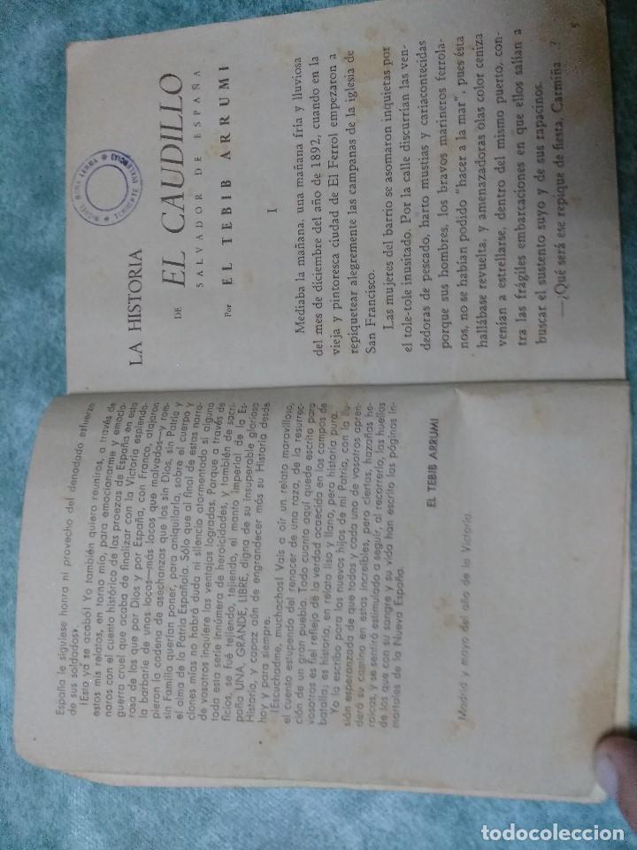 Libros antiguos: BIBLIOTECA INFANTIL LA RECONQUISTA DE ESPAÑA.Nº 1-LA HISTORIA DE EL CAUDILLO.- POR EL TEBIB ARRUMI - Foto 4 - 188493527