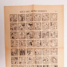 Libros antiguos: AUCA DEL MORO FEIXISTA - REPÚBLICA - GUERRA CIVIL - ORIGINAL NO FACSÍMIL. Lote 191609450