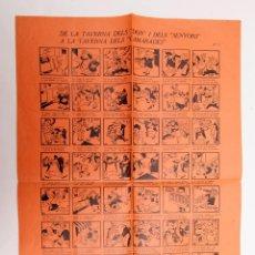 Libros antiguos: AUCA ANTIFASCISTA - DE LA TAVERNA DELS DON ... GUERRA CIVIL ORIGINAL NO FACSÍMIL. Lote 191609486