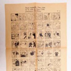 Libros antiguos: AUCA MOGUDA I BEN VISTA DE LA VIDA DE JOAN COBA ... - GUERRA CIVIL ORIGINAL NO FACSÍMIL. Lote 191609557