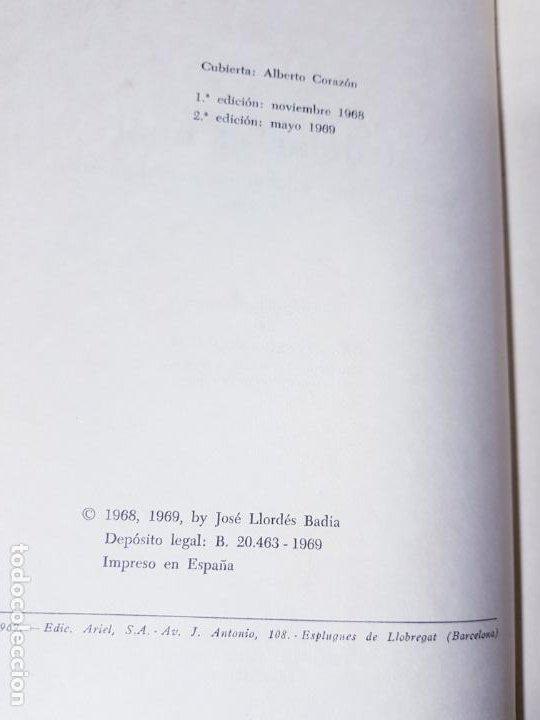 Libros antiguos: LIBRO-AL DEJAR EL FUSÍL-JOSÉ LLORDÉS-HORAS DE ESPAÑA-1969-2ªEDICIÓN-VER FOTOS - Foto 5 - 191870496