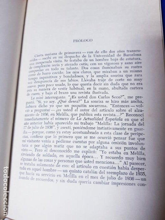 Libros antiguos: LIBRO-AL DEJAR EL FUSÍL-JOSÉ LLORDÉS-HORAS DE ESPAÑA-1969-2ªEDICIÓN-VER FOTOS - Foto 8 - 191870496