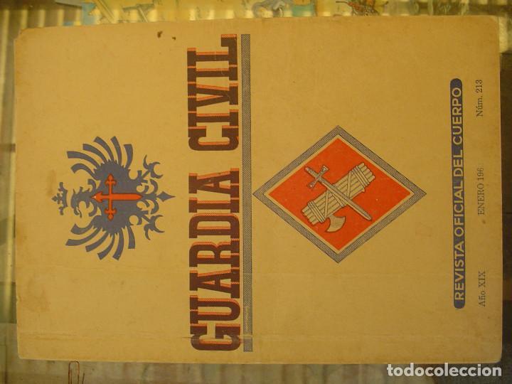 Libros antiguos: REVISTA OFICIAL DEL CUERPO Num. 213 Enero 1962 - Foto 2 - 194209625