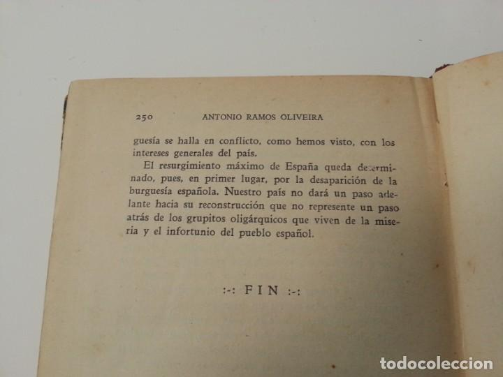 Libros antiguos: Antonio Ramos Oliveira ( Zalamea La Real, Huelva ). El capitalismo español al desnudo. Madrid 1935. - Foto 20 - 194223526