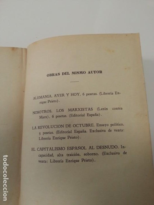 Libros antiguos: Antonio Ramos Oliveira ( Zalamea La Real, Huelva ). El capitalismo español al desnudo. Madrid 1935. - Foto 22 - 194223526