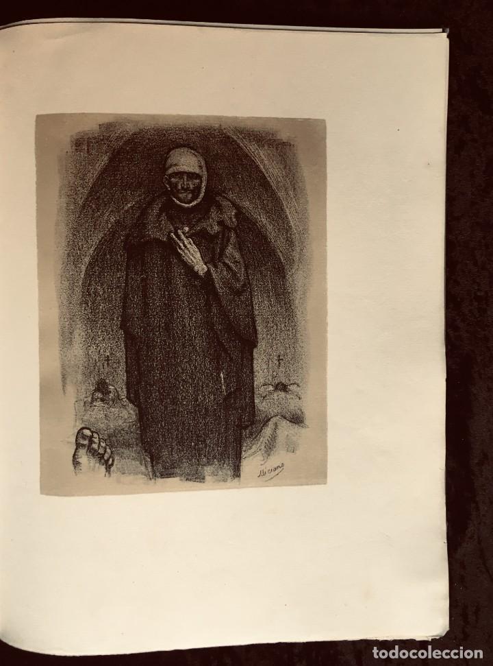 Libros antiguos: ELEGIES DE GUERRA - Nº13 de 13 exemplars en papel especial - MIQUEL DOLÇ - MICIANO (ilustr.) - Foto 10 - 194226586