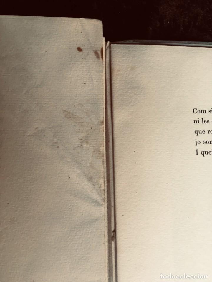 Libros antiguos: ELEGIES DE GUERRA - Nº13 de 13 exemplars en papel especial - MIQUEL DOLÇ - MICIANO (ilustr.) - Foto 11 - 194226586