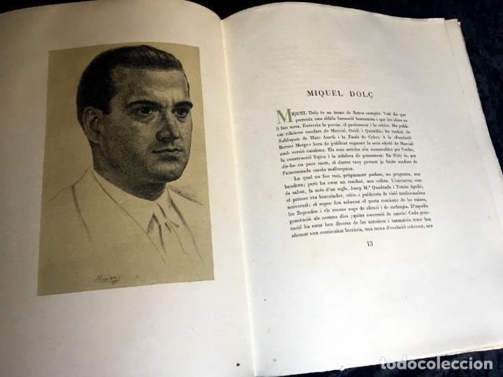 Libros antiguos: ELEGIES DE GUERRA - Nº13 de 13 exemplars en papel especial - MIQUEL DOLÇ - MICIANO (ilustr.) - Foto 16 - 194226586