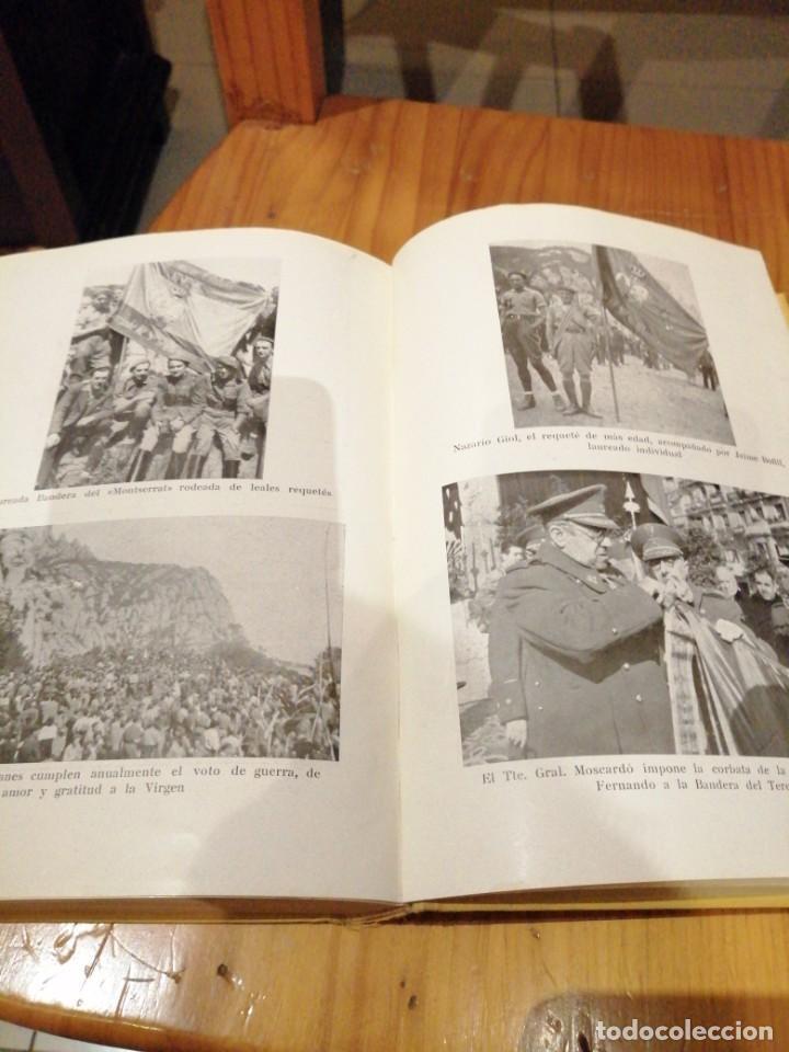 Libros antiguos: Tercio de requetes nuestra señora de Montserrat - Foto 5 - 194240402
