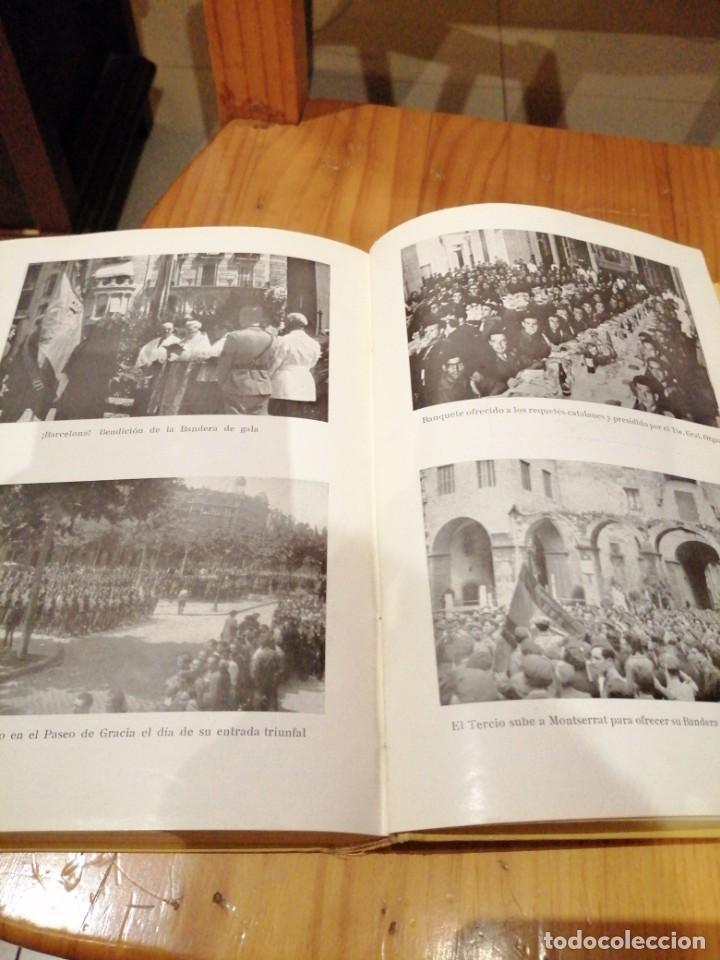 Libros antiguos: Tercio de requetes nuestra señora de Montserrat - Foto 6 - 194240402