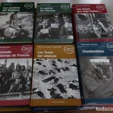 Libros antiguos: TESTIMONIOS DE LA GUERRA CIVIL, COMPLETA 40 LIBROS. Lote 194320630