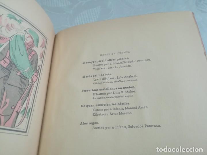 Libros antiguos: AUCA DEL NOI CATALÀ, ANTIFEIXISTA I HUMÀ , COMISSARIAT DE PROPAGANDA GENERALITAT CATALUNYA 1937 - Foto 10 - 194927477