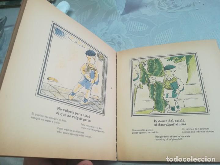 Libros antiguos: AUCA DEL NOI CATALÀ, ANTIFEIXISTA I HUMÀ , COMISSARIAT DE PROPAGANDA GENERALITAT CATALUNYA 1937 - Foto 12 - 194927477