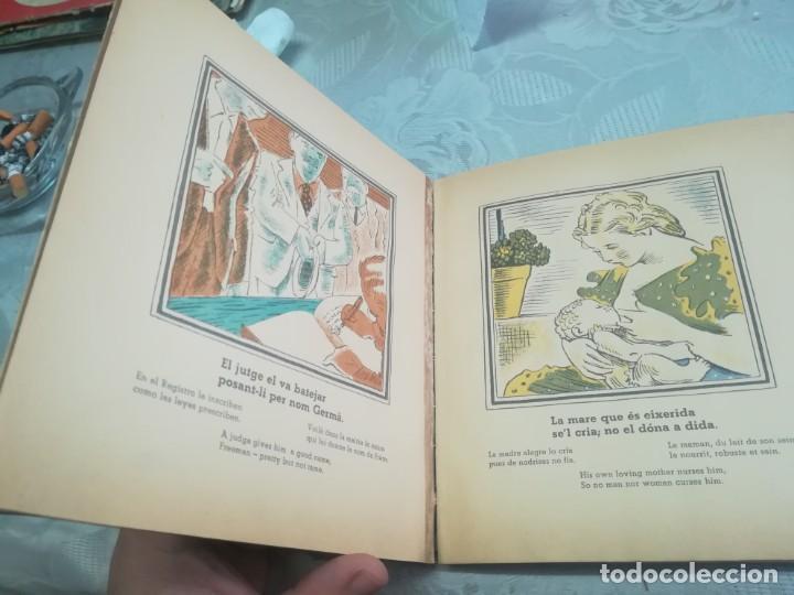 Libros antiguos: AUCA DEL NOI CATALÀ, ANTIFEIXISTA I HUMÀ , COMISSARIAT DE PROPAGANDA GENERALITAT CATALUNYA 1937 - Foto 17 - 194927477