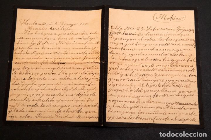 Libros antiguos: CARCEL DE MUJERES DE SATURRARAN - CARTA DE PRESA 1939 - GUERRA CIVIL - Foto 2 - 195073565